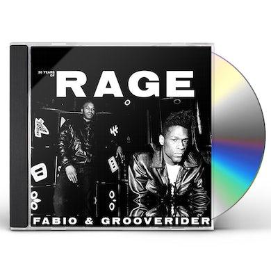 Fabio & Grooverider 30 YEARS OF RAGE CD