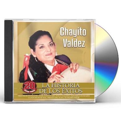 Chayito Valdez HISTORIA DE LOS EXITOS CD