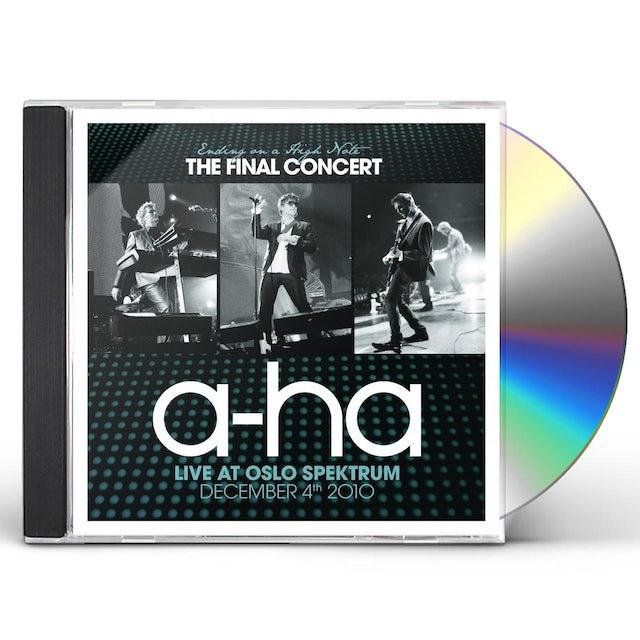 a-Ha ENDING ON A HIGH NOTE: FINAL CONCERT CD