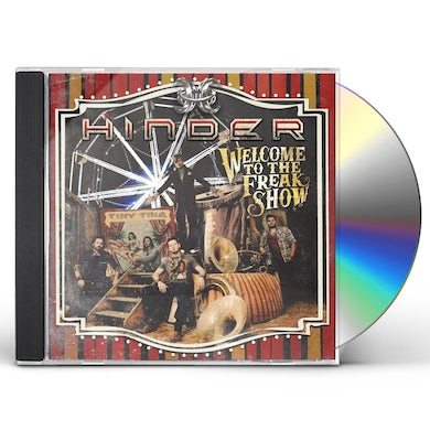 Hinder WELCOME TO THE FREAKSHOW CD