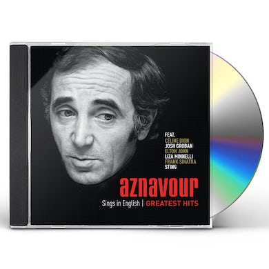 Charles Aznavour AZNAVOUR SINGS IN ENGLISH: OFFICIAL GREATEST HITS CD