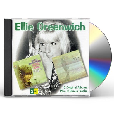 Ellie Greenwich 2 ORIGINAL LPS & 3 BONUS CUTS CD