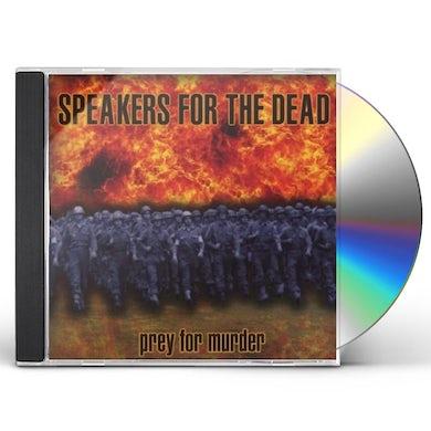 Speakers for the Dead PREY FOR MURDER CD
