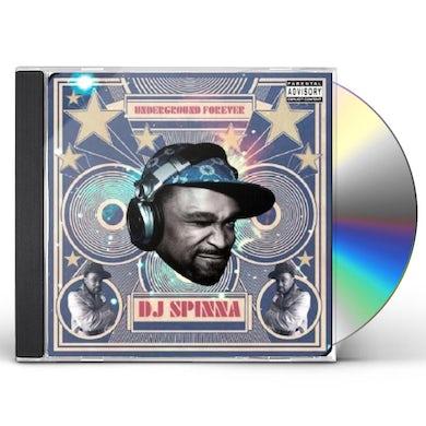 Dj Spinna UNDERGROUND FOREVER CD