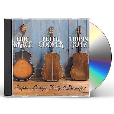 Eric Brace PROFILES IN COURAGE & FRAILTY & DISCOMFORT CD