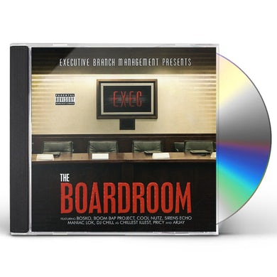 Cool Nutz BOARDROOM CD