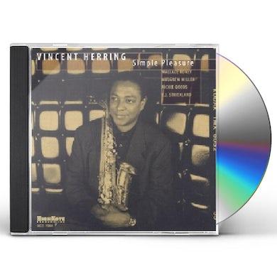 Vincent Herring SIMPLE PLEASURES CD