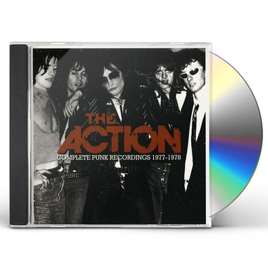 Action COMPLETE PUNK RECORDINGS 1977-1978 CD