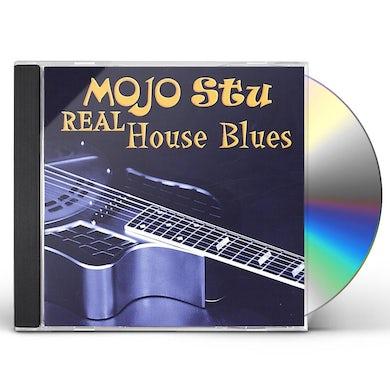 Mojo Stu REAL HOUSE BLUES CD