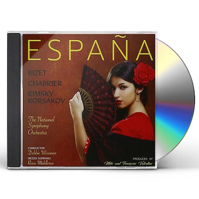 Debbie Wiseman / Rosie Middleton & National Sym. ESPANA - TRIBUTE TO SPAIN CD