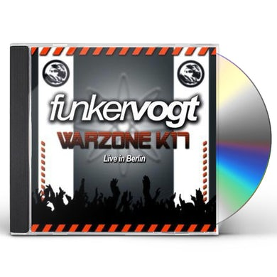 Funker Vogt WARZONE K17: LIVE IN BERLIN CD