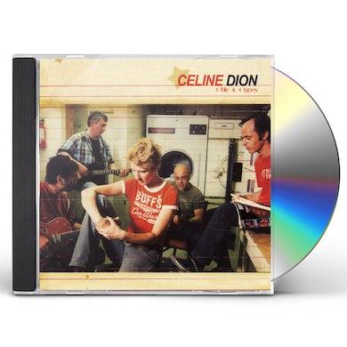 Celine Dion 1 FILLE ET 4 TYPES CD