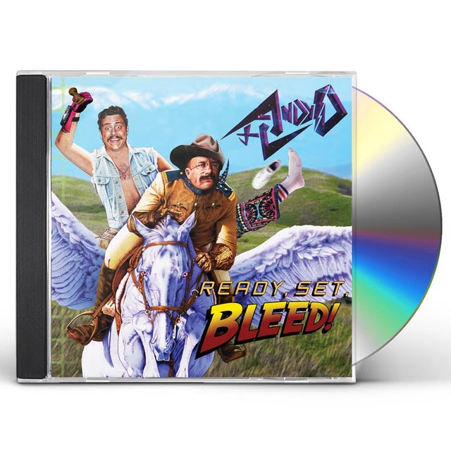 Andy D READY SET BLEED CD