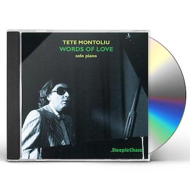 Tete Montoliu WORDS OF LOVE CD