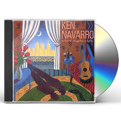 Ken Navarro WHEN NIGHT CALLS CD