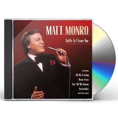 Matt Monro SOFTLY AS I LEAVE YOU CD