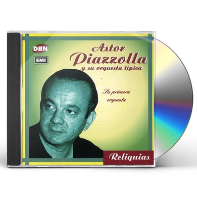 Astor Piazzolla SU PRIMERA ORQUESTA CD