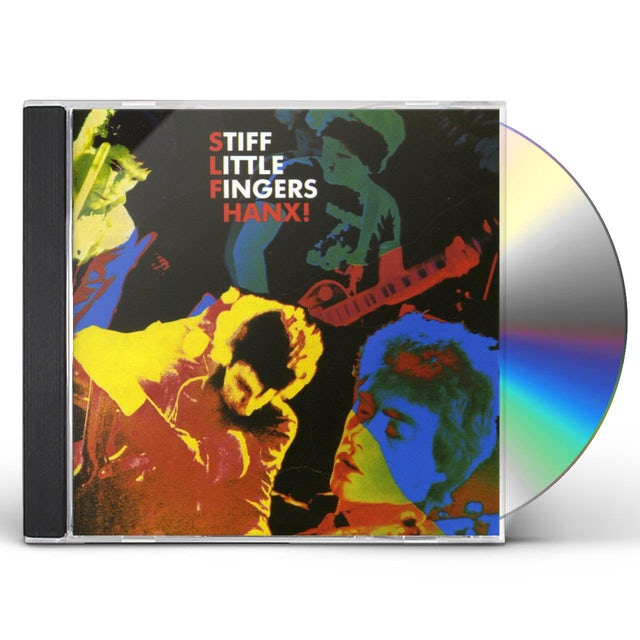 Stiff Little Fingers HANX CD
