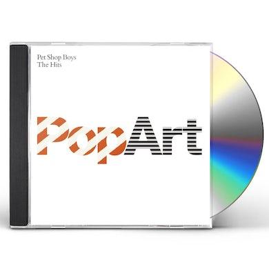 Pet Shop Boys POP ART: THE HITS CD
