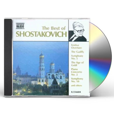 BEST OF SHOSTAKOVICH CD