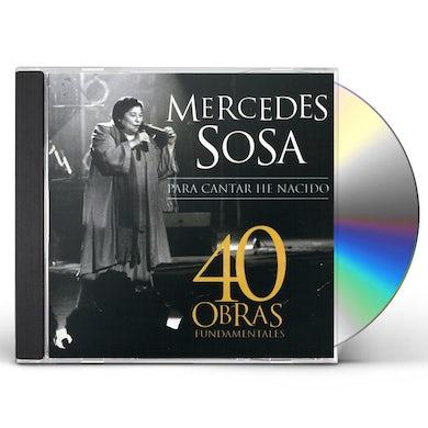 Mercedes Sosa 40 OBRAS FUNDAMENTALES CD