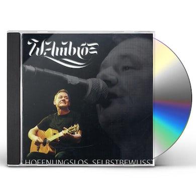 Wolfgang Ambros HOFFNUNGSLOS SELBSTBEWUSST CD