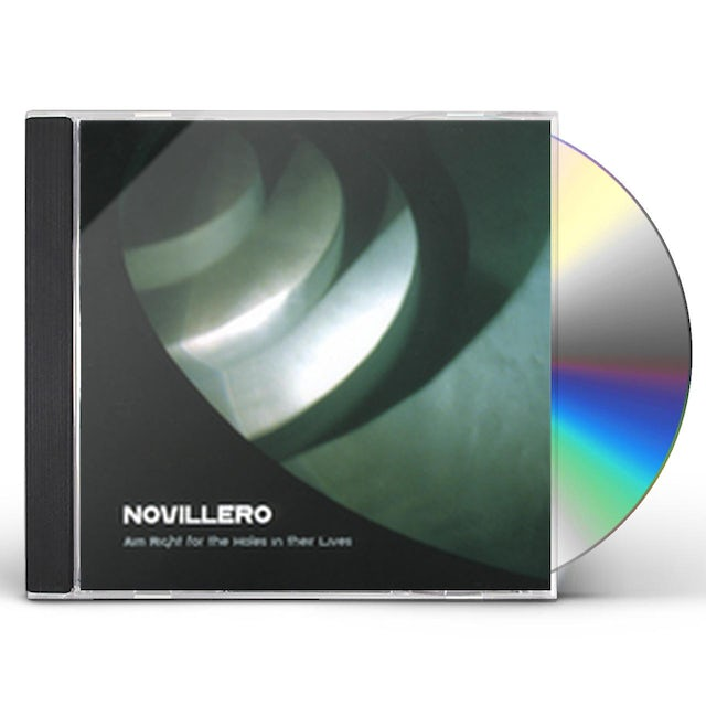 Novillero AIM RIGHT FOR THE HOLES IN THEIR LIVES CD
