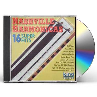 Nashville Harmonicas 16 SUPER HITS CD