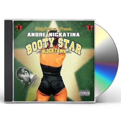 Andre Nickatina BOOTY STAR GLOCK TAWK CD