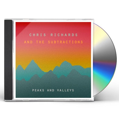 Chris Richards & The Subtractions PEAKS & VALLEYS CD