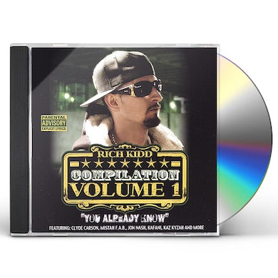 Rich Kidd COMPILATON: YOU ALREADY KNOW 1 CD