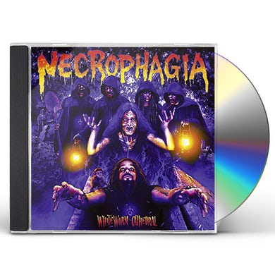 Necrophagia WHITE WORM CATHEDRAL CD