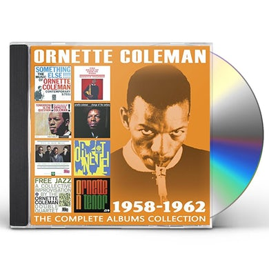 Ornette Coleman COMPLETE ALBUMS COLLECTION: 1958-1962 CD