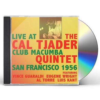 Cal Tjader LIVE AT THE CLUB MACUMBA SAN FRANCISCO 1956 CD