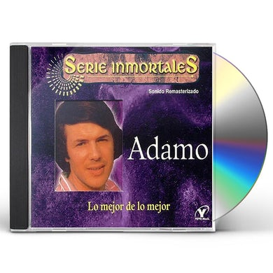 Adamo MEJOR DE LO MEJOR CD
