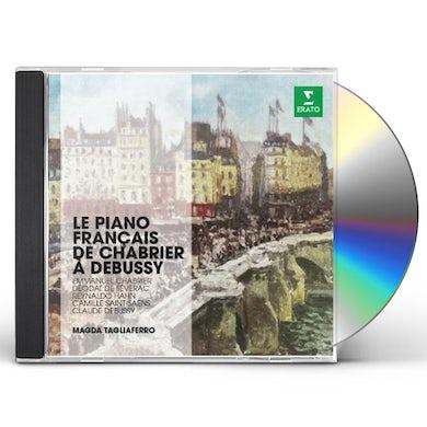 LE PIANO FRANCAIS DE CHABRIER A DEBUSSY CD