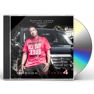 Canton Jones KINGDOM BUSINESS 4 CD