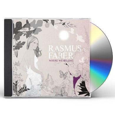 Rasmus Faber WHERE WE BELONG CD