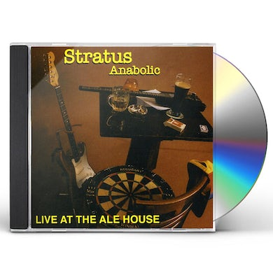 Stratus ANABOLIC LIVE AT THE ALE HOUSE CD