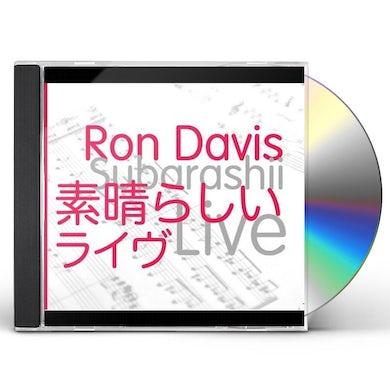 Ron Davis SUBARASHII LIVE CD