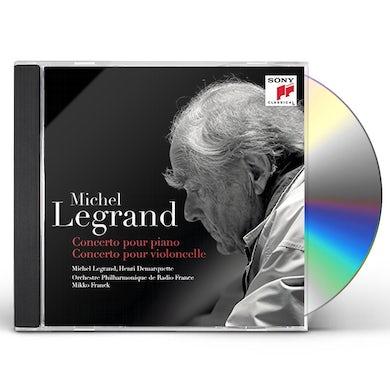 Michel Legrand CONCERTO POUR PIANO CONCERTO POUR VIOLO CD