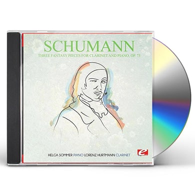 Schumann THREE FANTASY PIECES FOR CLARINET AND PIANO OP. 73 CD