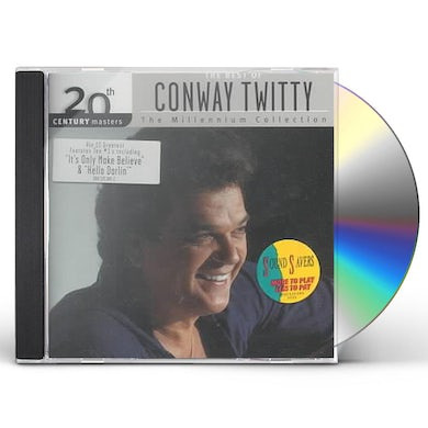 Conway Twitty 20TH CENTURY MASTERS CD