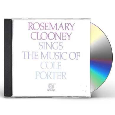 Rosemary Clooney SINGS COLE PORTER CD