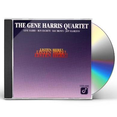 Gene Harris LISTEN HERE CD