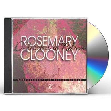 Rosemary Clooney DEDICATED TO NELSON RIDDLE CD