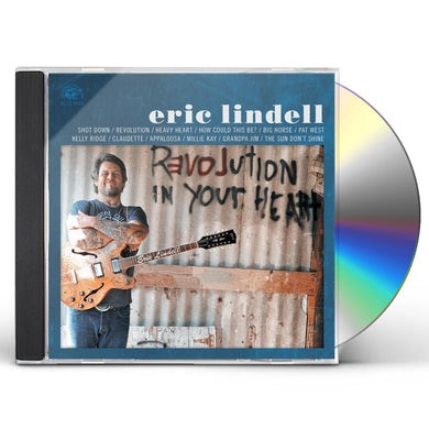 Eric Lindell REVOLUTION IN YOUR HEART CD