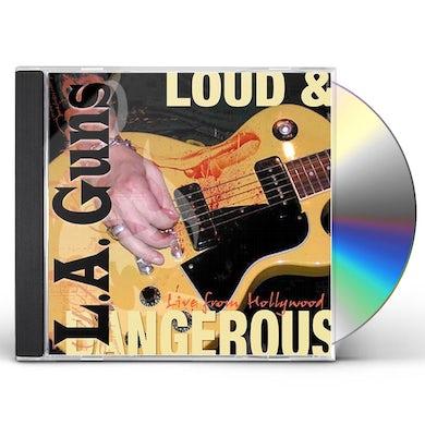 LA Guns LOUD & DANGEROUS CD