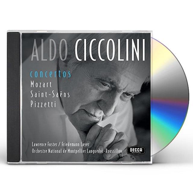 Aldo Ciccolini CONCERTOS: MOZART / SAINT-SAENS / PIZETT CD