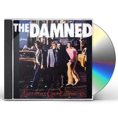 The Damned MACHINE GUN ETIQUETTE CD